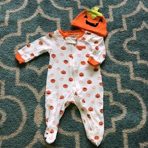 Carters infant Halloween sleeper